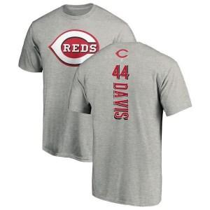 Eric Davis Cincinnati Reds Men's Backer T-Shirt - Ash
