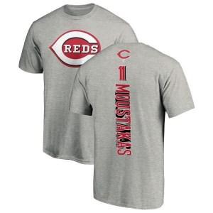 Mike Moustakas Cincinnati Reds Youth Backer T-Shirt - Ash