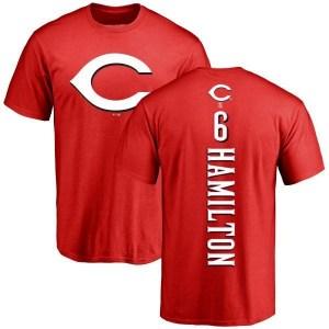 Billy Hamilton Cincinnati Reds Youth Red Backer T-Shirt -